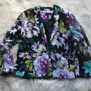 Floral Light weight Blazer
